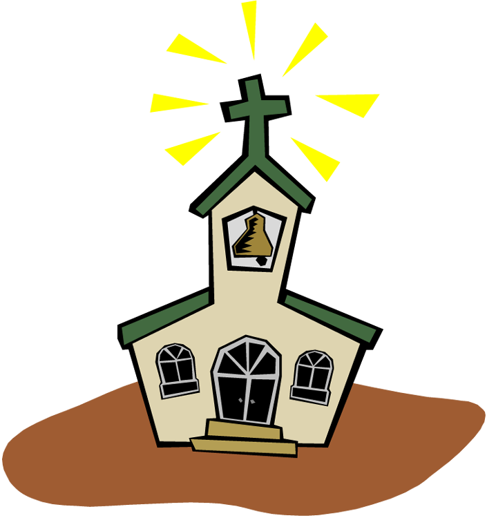 705x750 Church Clip Art Black And White Free Clipart Images 2