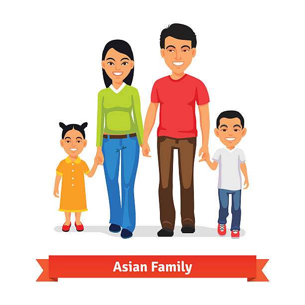 612x612 Asian Clipart Chinese Family