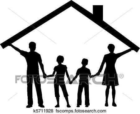 450x368 Family Clipart Eps Images. 122,061 Family Clip Art Vector