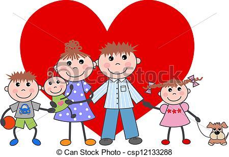 450x308 Family Love Clipart
