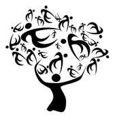 166x170 Family Tree Clip Art