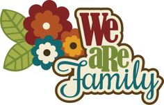 236x152 We Are Family Clip Art Clipart
