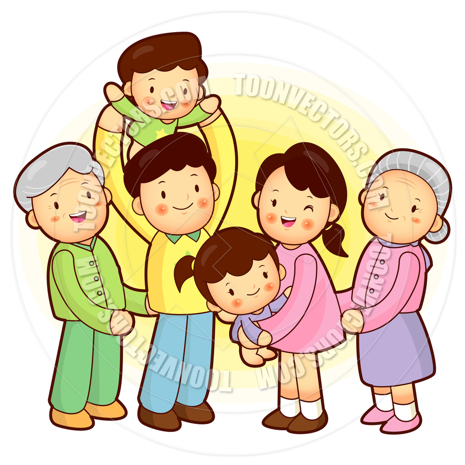 940x940 Extended Family Members Clipart Collection