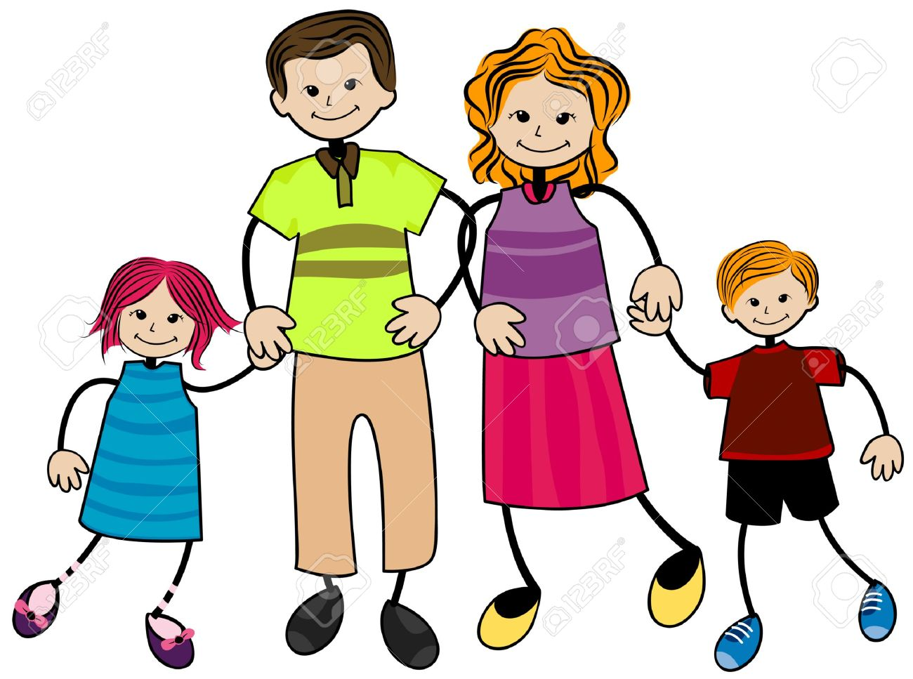 1300x967 Family Clipart Free
