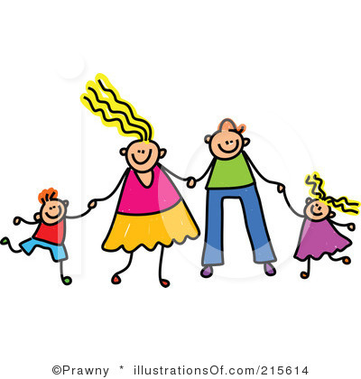 400x420 Free Family Clipart