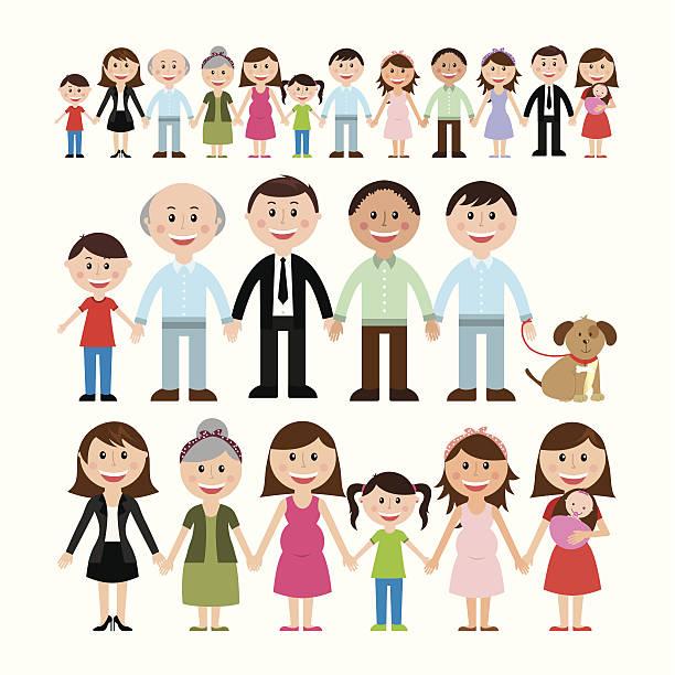 612x612 Human Clipart Family Member