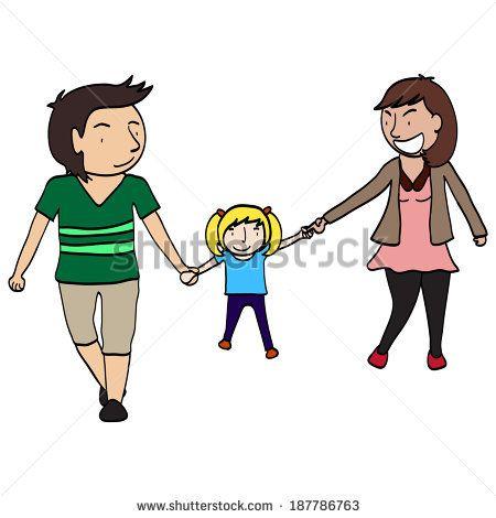 450x470 Family Members Active, Activity, Black, Bonding, Cartoon, Child