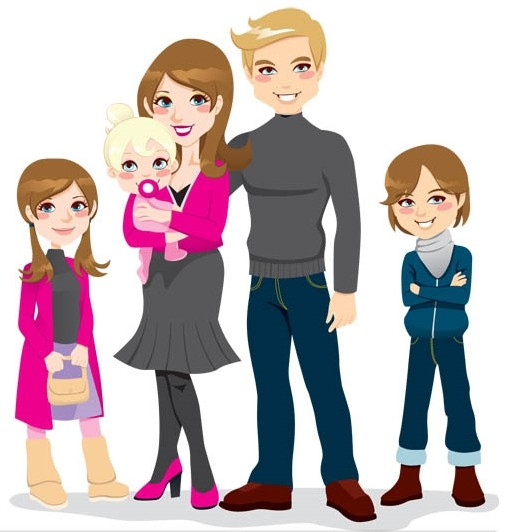 506x532 Family Members Cliparts 207939