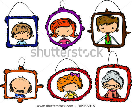 450x373 Family Members Clipart