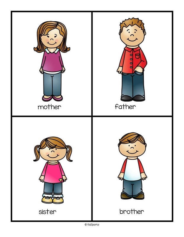622x800 Family Members Flashcards 2