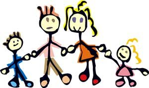 300x177 Free Family Clipart Image