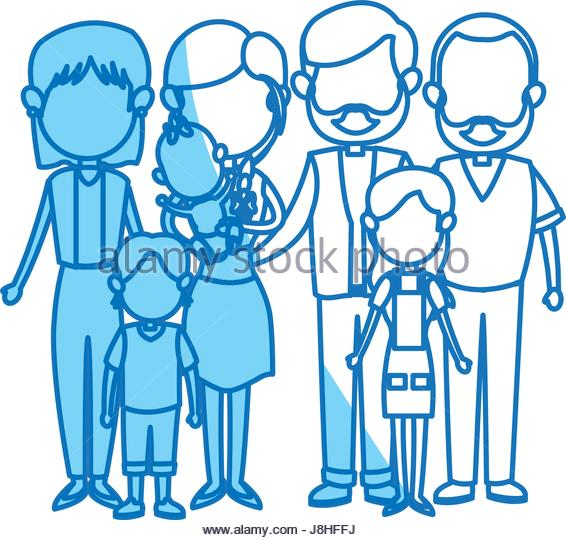 566x540 Mother Daughter Family Members Vector Stock Photos Amp Mother