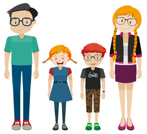 300x274 Family Members Royalty Free Photos And Vectors