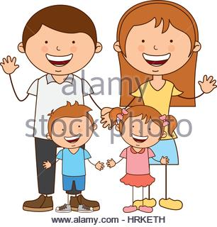 306x320 Happy Family Members Icon Stock Vector Art Amp Illustration, Vector