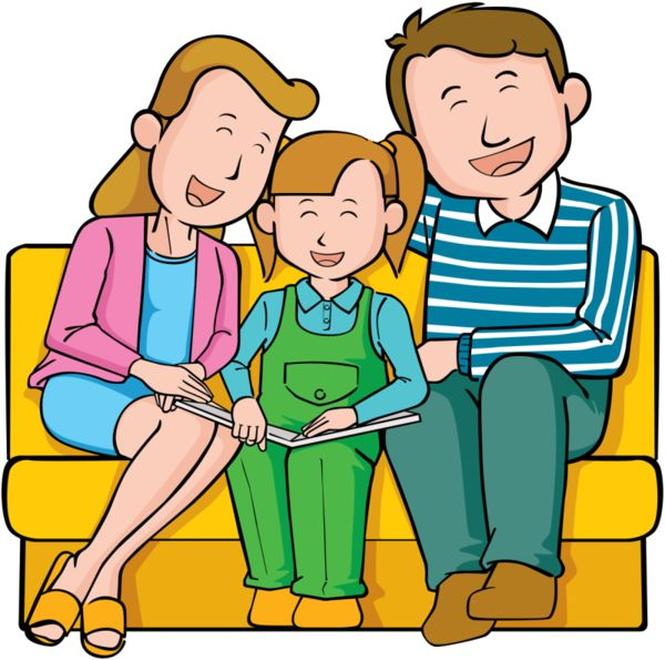 Family Of 4 Clipart