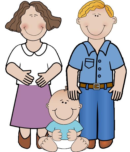 510x596 Family Unit Clip Art