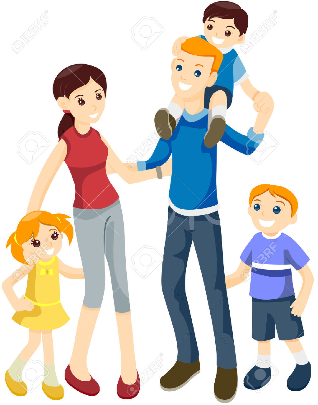 1022x1300 Family Of Clipart