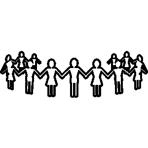 300x300 Clip Art Church Family And Friend Clipart 4