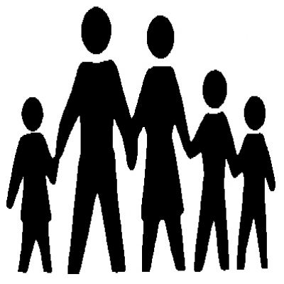 Family Of 5 Clipart