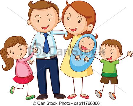450x359 Clipart Of Family Pictures