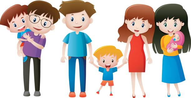 612x314 Family Members Clipart Collection