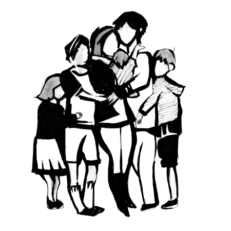 450x450 Family Reunification Clipart
