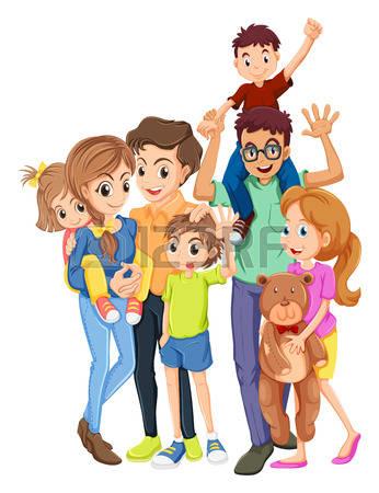 346x450 Member Family Clipart