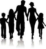 158x170 Shaow Clipart Family 6