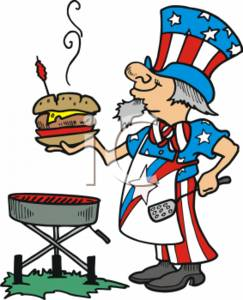 243x300 Memorial Day Picnic Clip Art