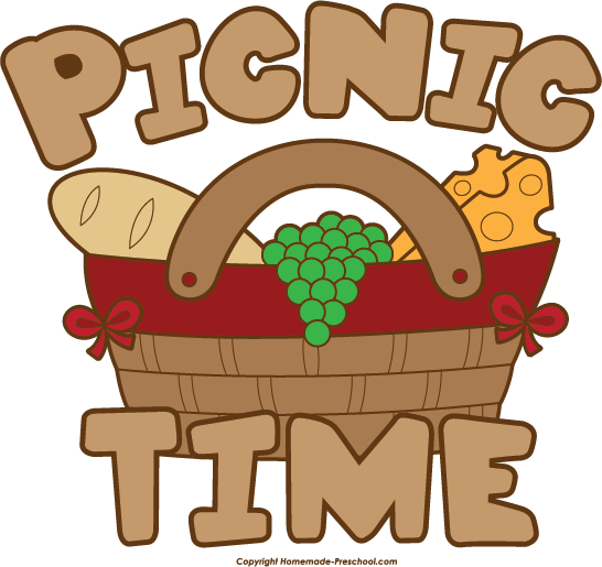 546x515 Picnic Basket clipart family picnic