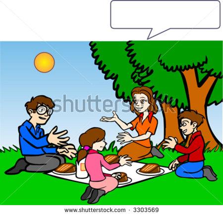 450x434 Picnic clipart family picnic