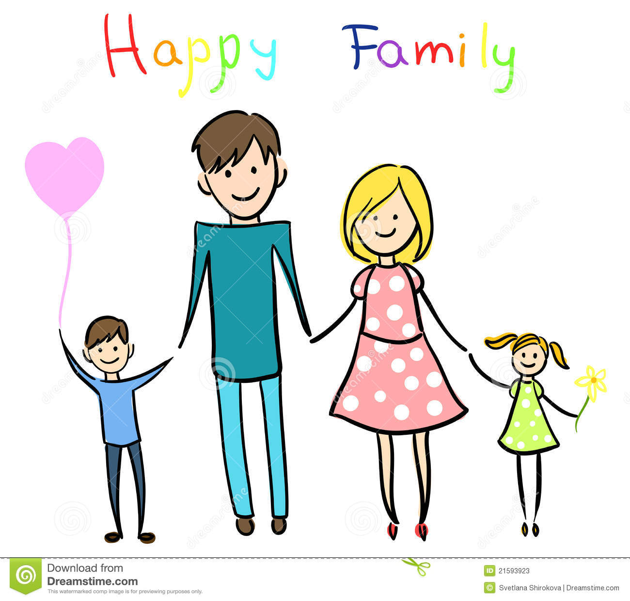 1300x1240 Happy Family Clipart