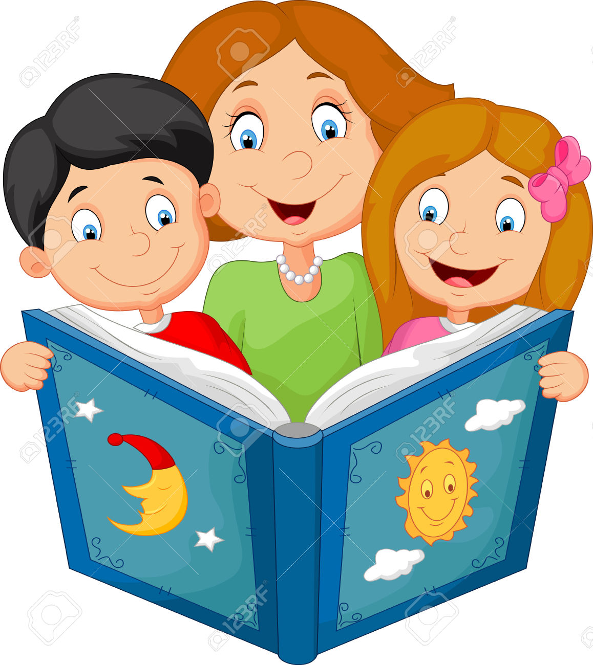 1158x1300 Parent And Child Reading Clipart