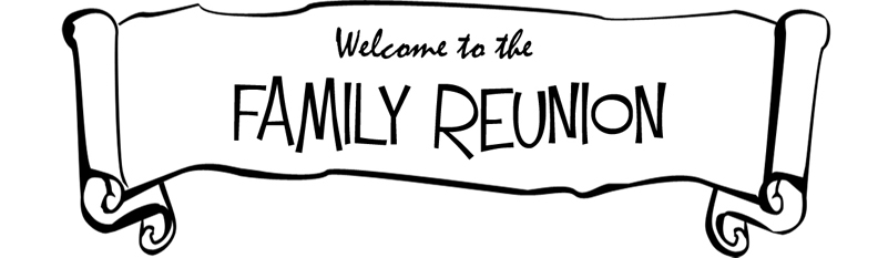 792x233 Family Reunion Clipart In Black And White 101 Clip Art