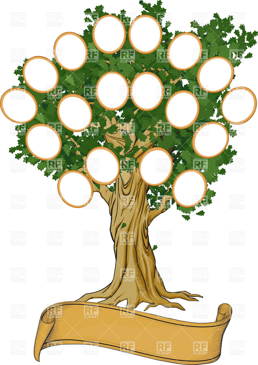 850x1200 Family Reunion Clipart Free Rf Tree