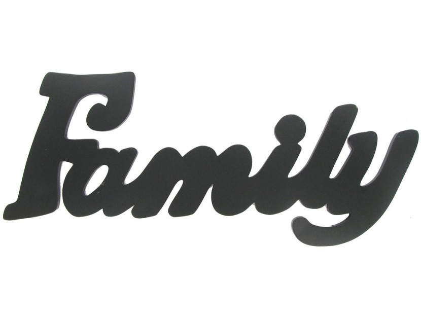 830x621 Family Word Clipart