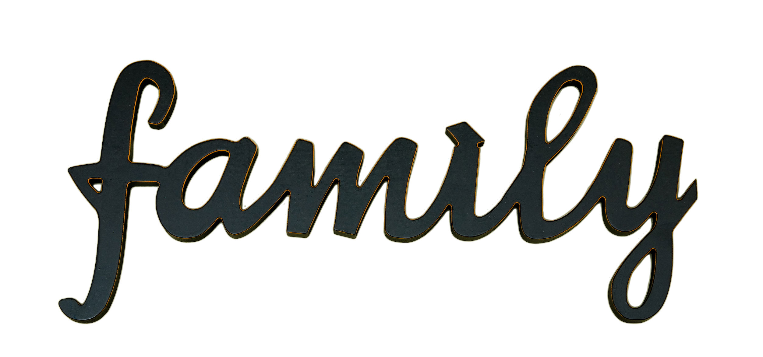 2505x1173 Image Of Family Word Clipart