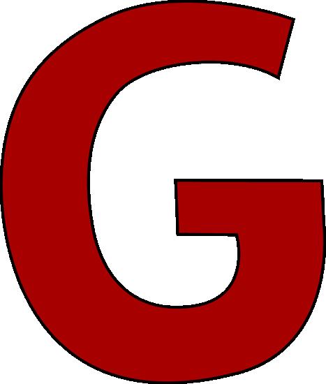 467x550 Red Letter G Clip Art