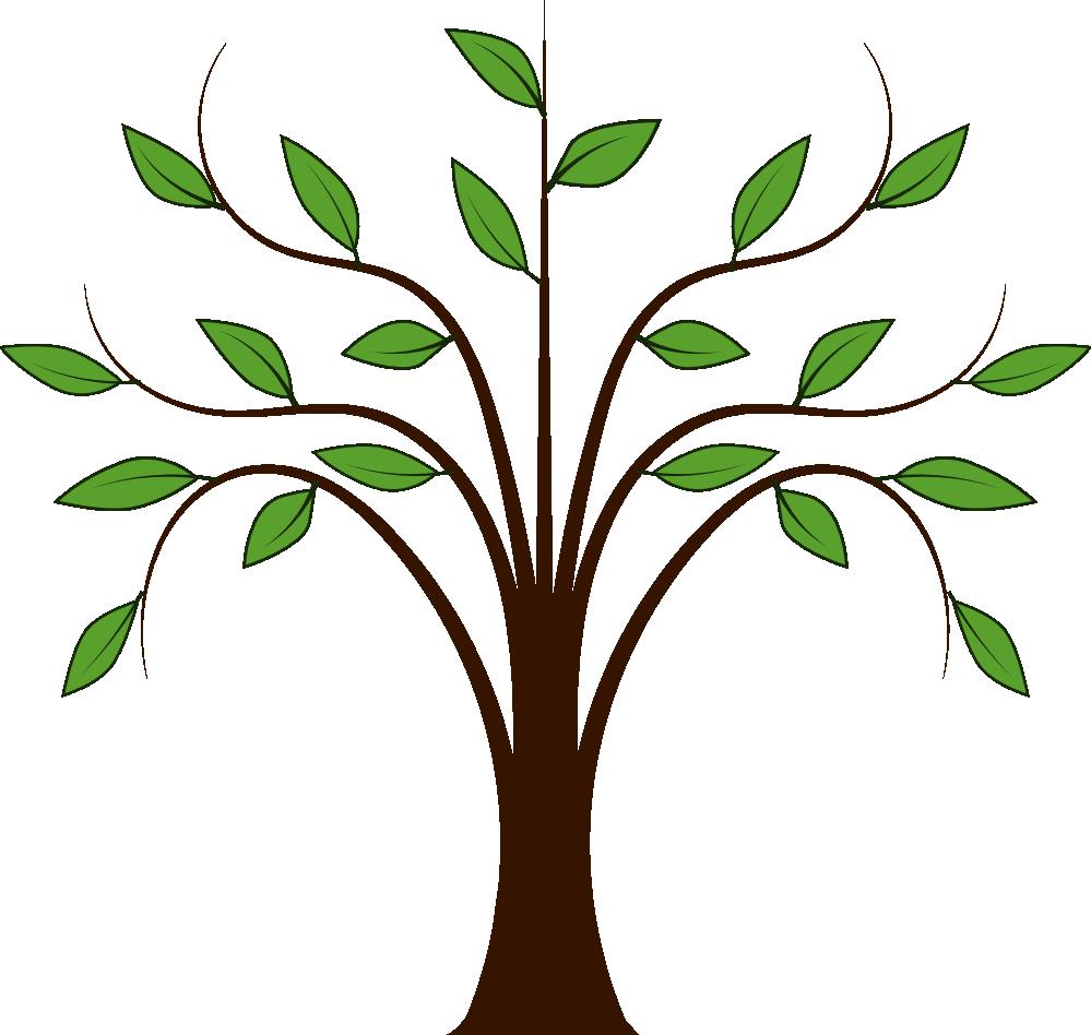 999x948 Tree Clip Art