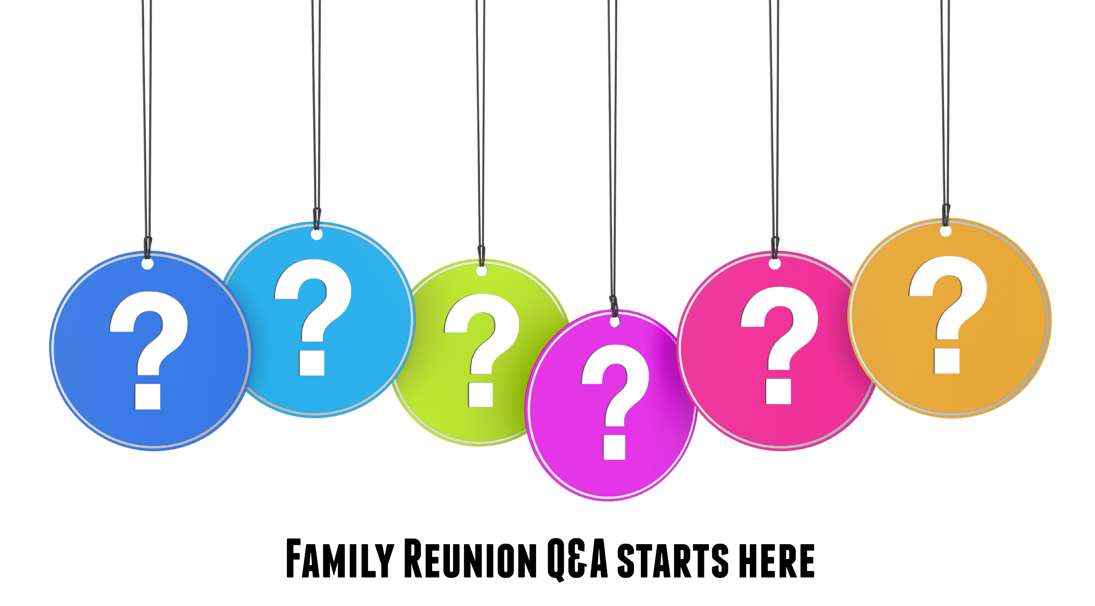 3641x2016 Family Reunion Questions Answered