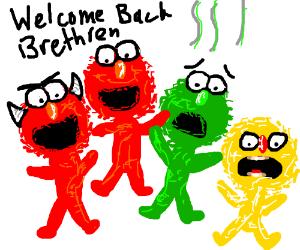 300x250 Elmo, Smellmo, And Elmo Family Reunion