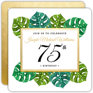 300x300 75th Birthday Invitations Custom Invites For Everyone