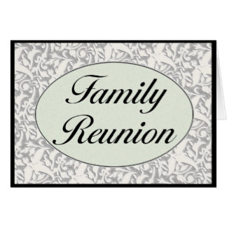 324x324 Family Reunion Greeting Cards Zazzle