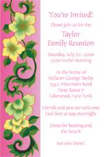158x225 Family Reunion Invitations