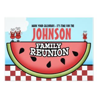 324x324 Fun Family Reunion Invitations Amp Announcements Zazzle