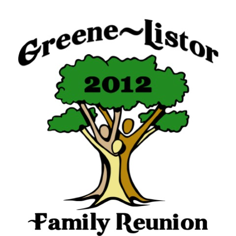 480x480 Original Family Reunion T Shirt Tree Design. Frw T608. Family