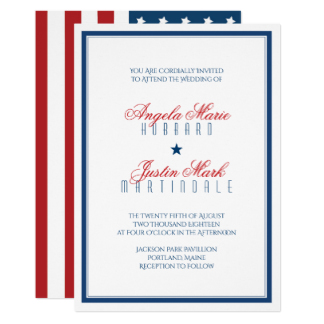 324x324 Patriotic Invitations, Patriotic Announcements Amp Invites
