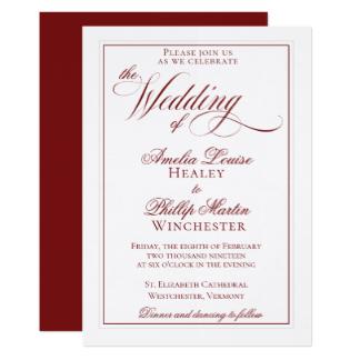 324x324 Regal Wedding Invitations Amp Announcements Zazzle.co.uk