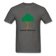 190x190 Family Reunion Tree T Shirt Spreadshirt