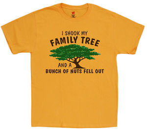 300x268 Funny Family Tree Design T Shirt Family Reunion Crazy Family Shirt